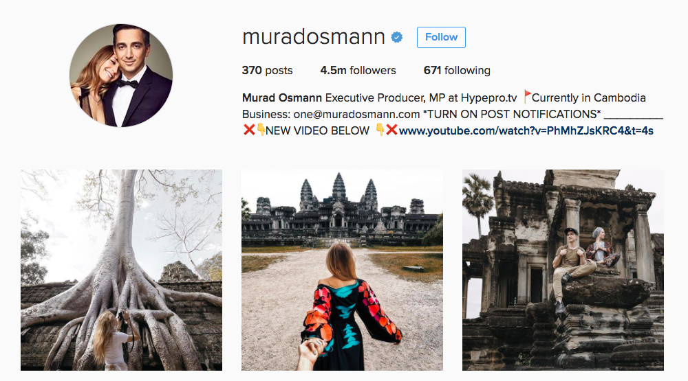 Murad Osmann Instagram Influencer