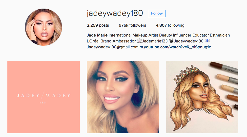 Jade Marie Instagram Influencer