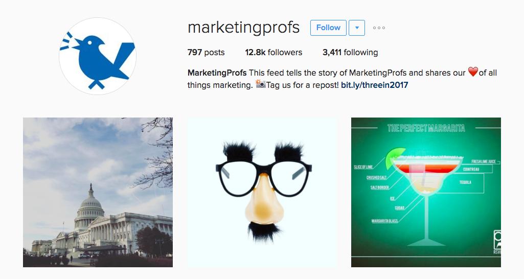 Marketing Profs Entrepreneur Instagram Influencer