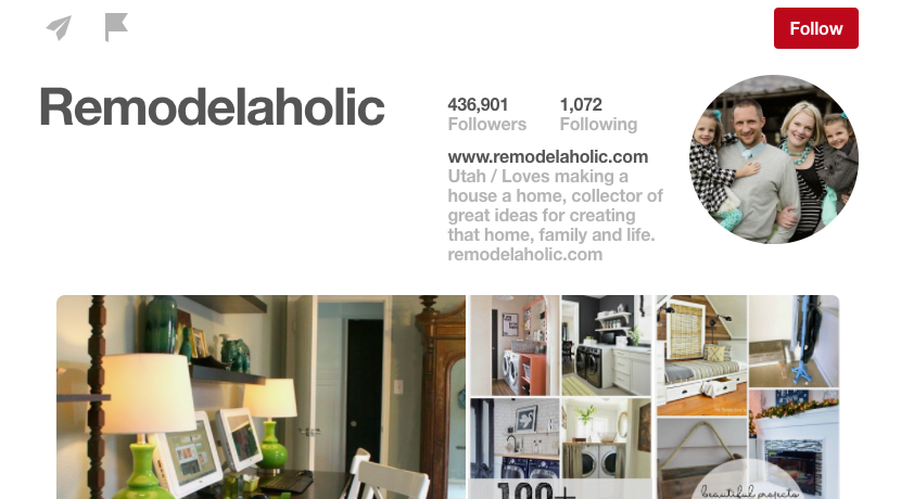 Charming Home Design Influencers Part - 4: Remodelaholic DIY Pinterest Influencer