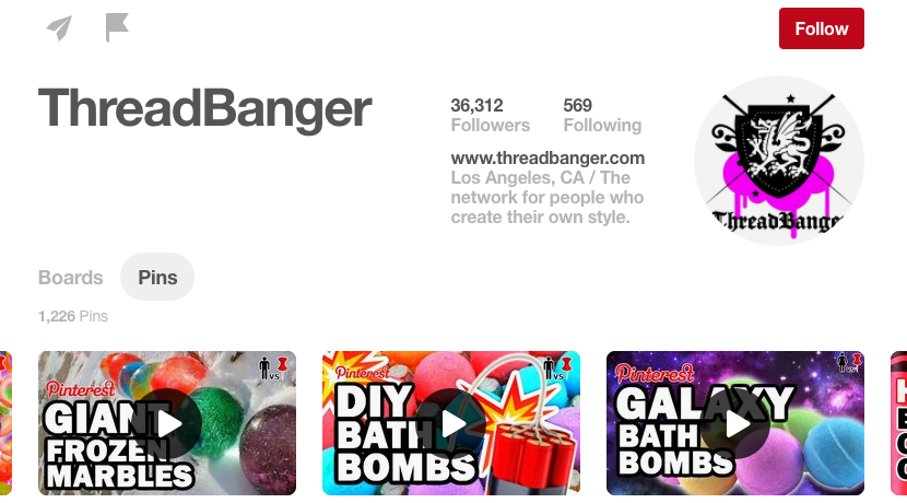 ThreadBanger DIY Pinterest Influencer